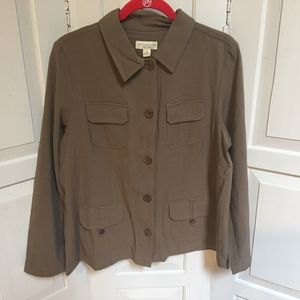 NWOT Appleseed's Petites Blouse PL